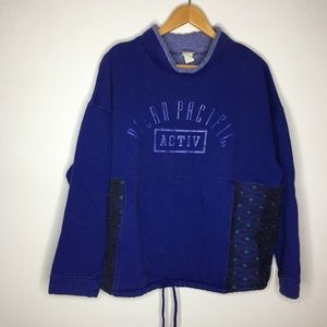 Vintage OP Ocean Pacific Mock Neck Sweatshirt
